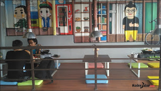 Lesehan ala Korea di Fat Oppa Bandung