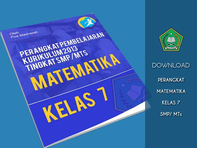 Geveducation:  Perangkat Pembelajaran Matematika Kelas 7 K13 Revisi 2018/2019 Tingkat SMP/ Mts