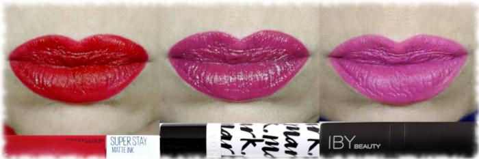 Maybelline Pioneer, Avon Mark Berry Cute & IBY Beauty Mardi Gras