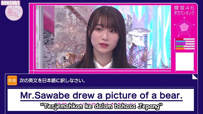 Soko Magattara, Sakurazaka Episode 34 Sub Indo