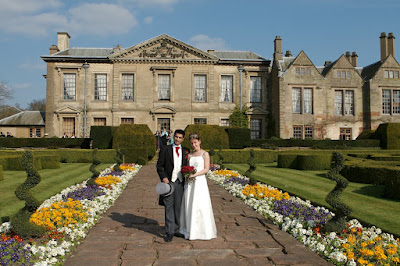 Wedding photo at Coombe Abbey
