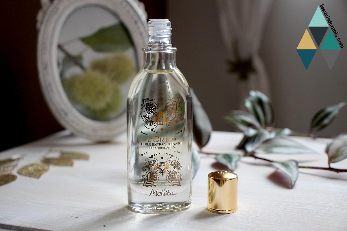 revue beauté huile nourrissante or bio melvita
