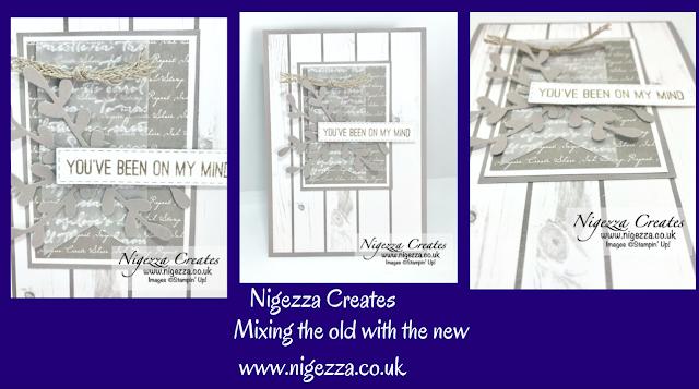 Nigezza Creates with Stampin Up layered card