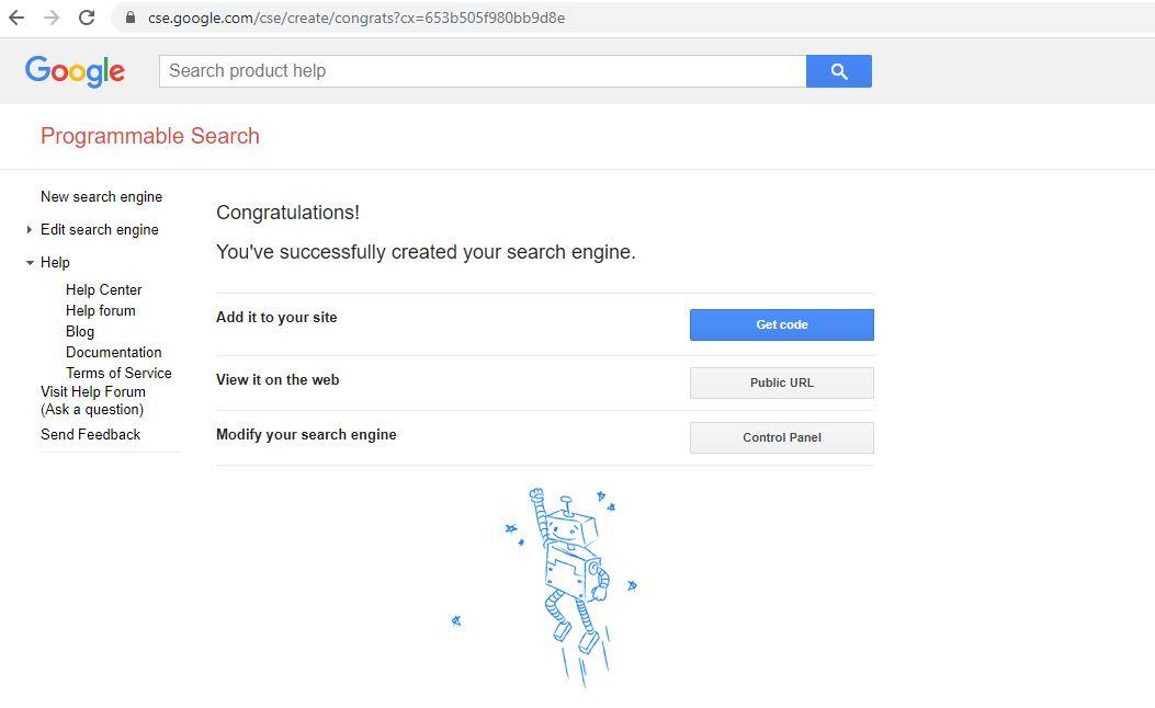 CSE Google created
