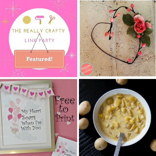 The Really Crafty Link Party #105 featured post