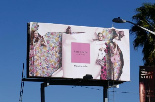 Kate Spade NY Love in Spades S19 billboard