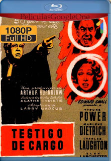 Testigo De Cargo[1957] [1080p BRrip] [Latino- Ingles] [GoogleDrive] LaChapelHD