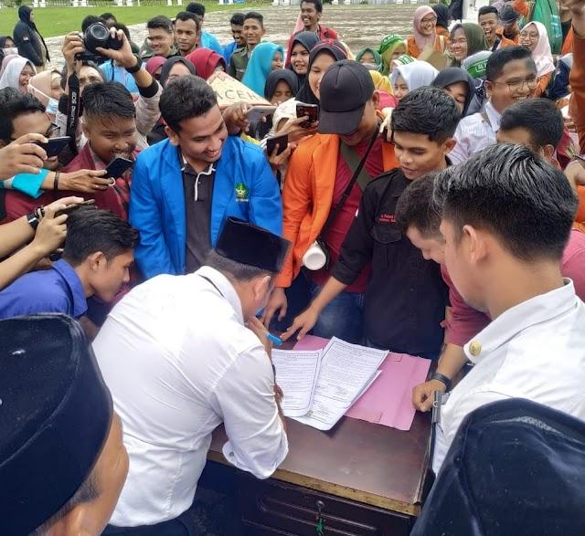 Lingkungan Alam Aceh Besar Tercemar, Mahasiswa Desak Bupati Panggil PT SBA