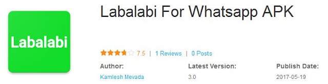 Gratis! Download Labalabi WhatsApp untuk memasarkan produk kamu