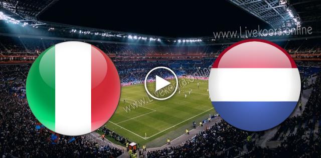 موعد مباراة ايطاليا وهولندا بث مباشر بتاريخ 14-10-2020 دوري الأمم الأوروبية