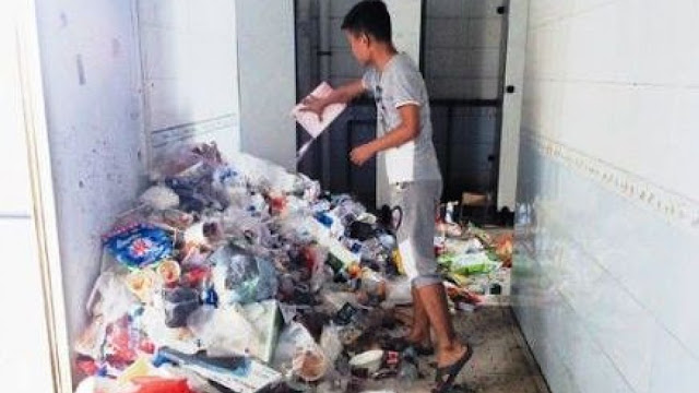 This Dorm In China Is Full Of Garbage And Chinese Students Live Here