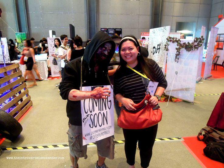 Outbreak Manila at Blogapalooza