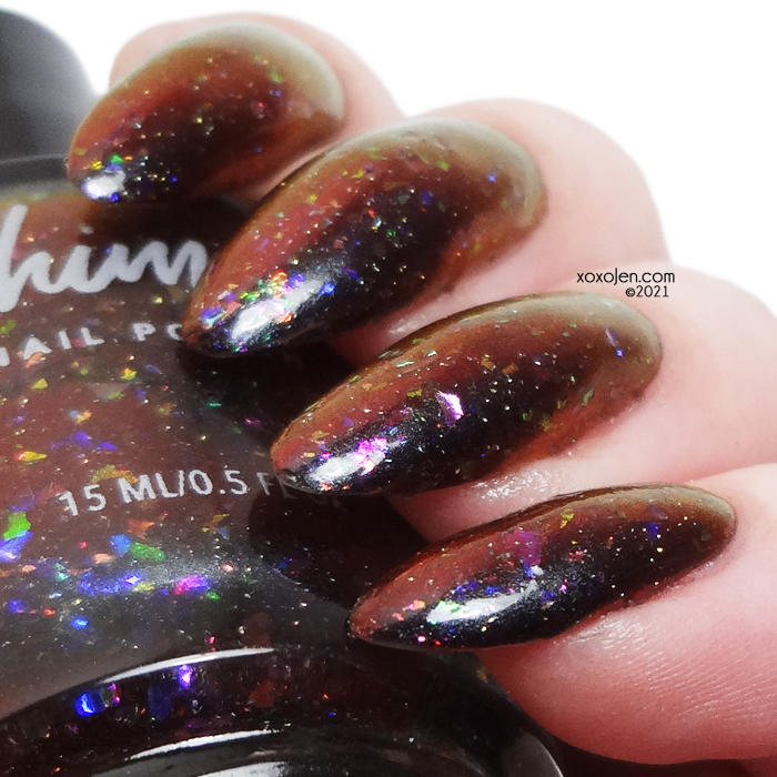xoxoJen's swatch of KBShimmer Honky Tonk Highway