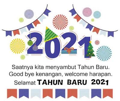 kata tahun baru 2021