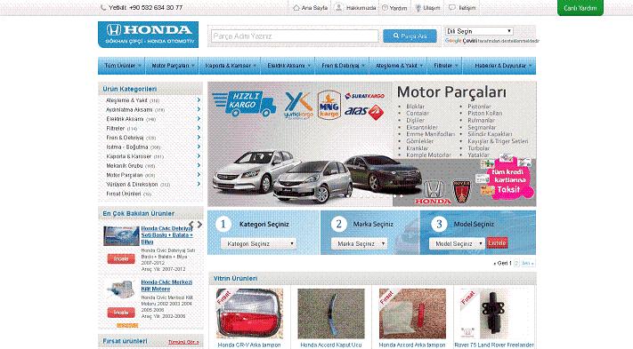 Otomobil Yedek Parça İthalatçıları | Honda Otomotiv