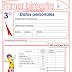 EXAMEN PARA PRIMER BIMESTRE-TERCER GRADO (2015-2016)