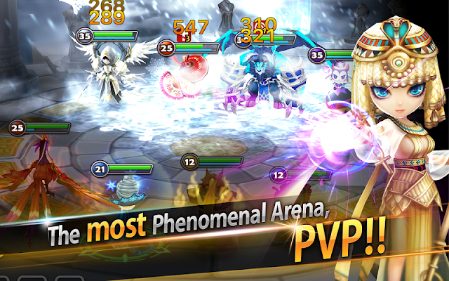Game Online Summoners War Mod Apk Unlimited Good Attack