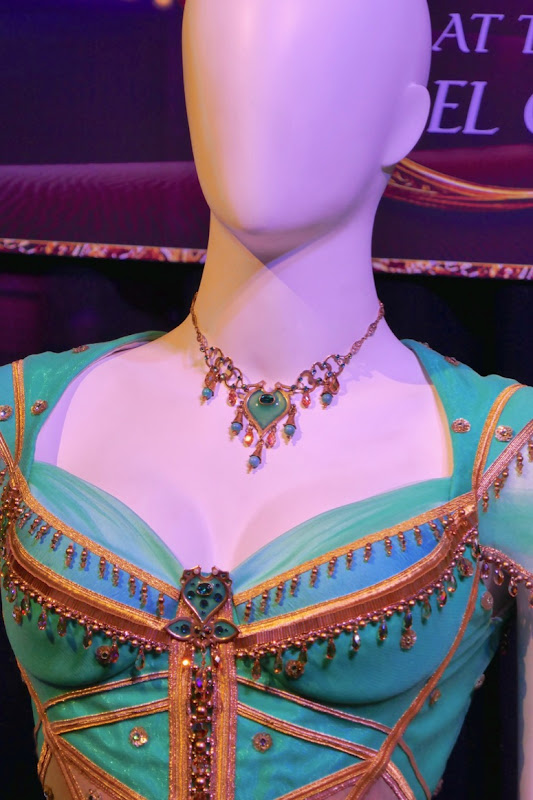Aladdin Jasmine costume necklace
