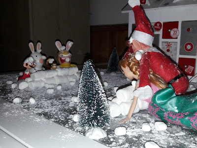farce neige lutin de noel betise elf on the shelf facile