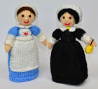 Nurse Doll Knitting Pattern