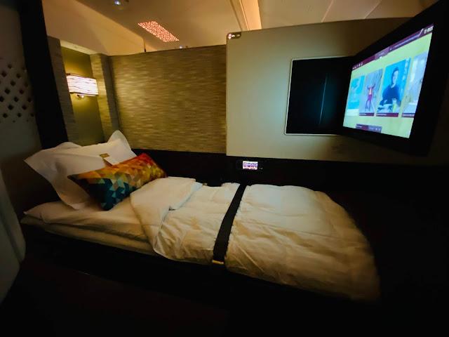 Etihad A380 Apartment First Class