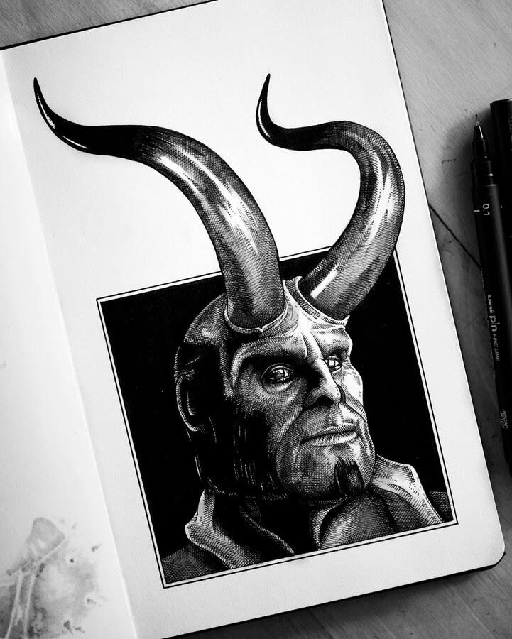 10-Hellboy-Camilo-Hearso-www-designstack-co