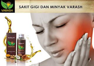 Sakit Gigi & Minyak Varash Classic Natural Oil