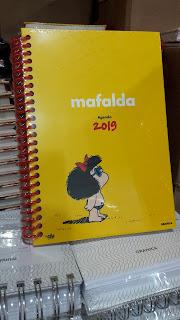 AGENDAS 2019  GRANICA Mafalda amarillo