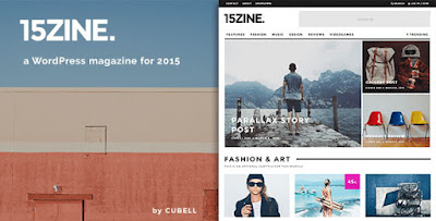 Free Download15Zine v1.3.1 HD Magazine-Newspaper Wordpress Theme