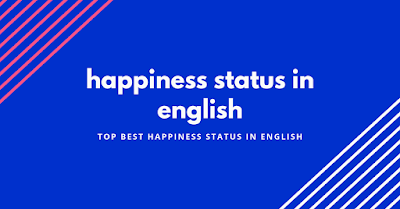 happiness status in english