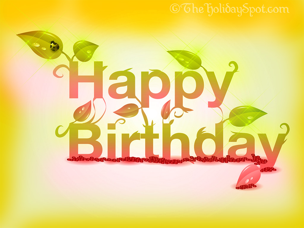 Download The Cool Happy Birthday HD Wallpaper Free | Every