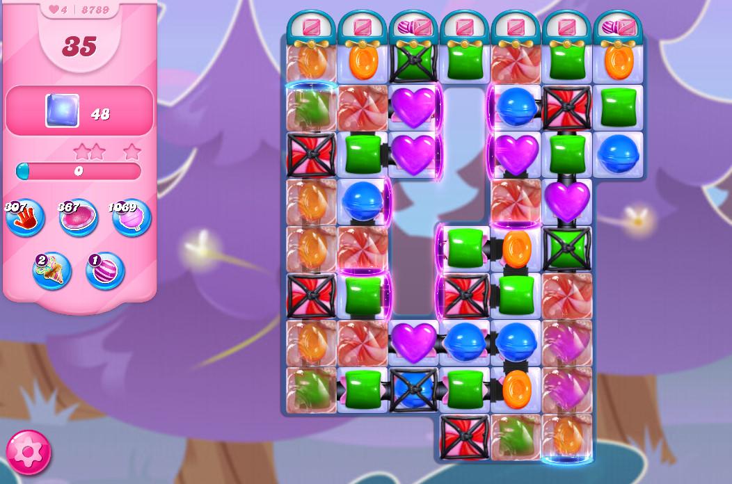 Candy Crush Saga level 8789