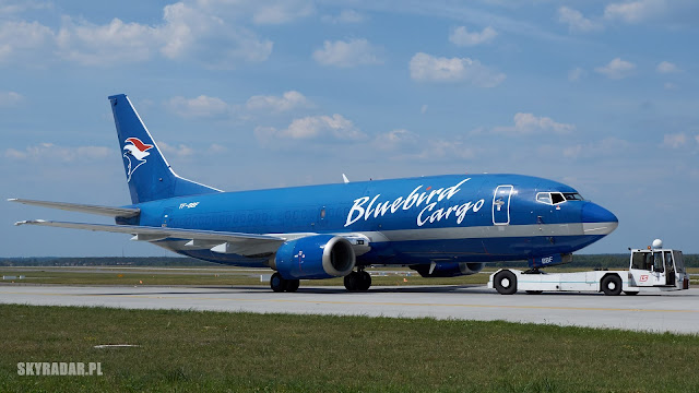 TF-BBF - Bluebird Cargo - Boeing 737