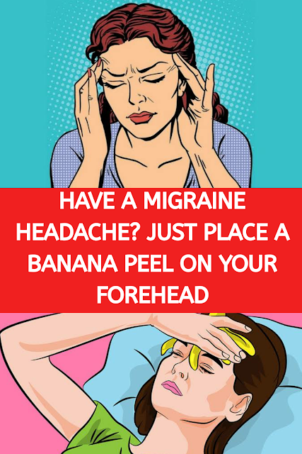 Have a Migraine Headache? Just Place a Banana Peel on Your Forehead