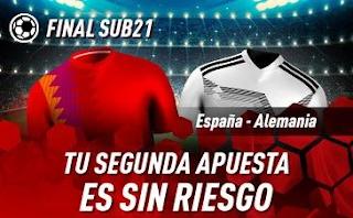 sportium Promo España Sub21 vs Alemania Sub21 30 junio 2019