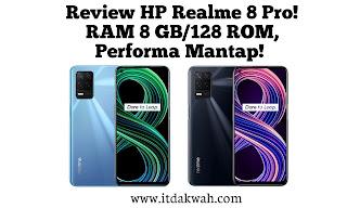 Review Realme 8 5G Termurah! HP RAM 8 GB