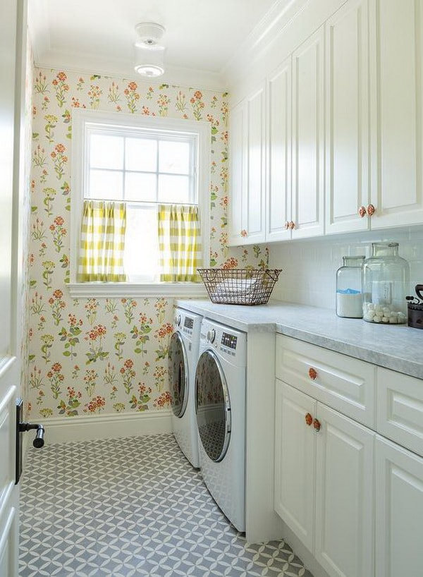Creative Laundry Rooms Decor Ideas - Room Organization Ideas