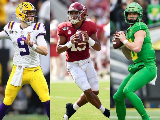 FÚTBOL AMERICANO - Los mejores Quarterbacks del próximo NFL Draft 2020