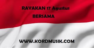 Kunci gitar lagu coklat - Bendera untuk hari Kemerdekaan
