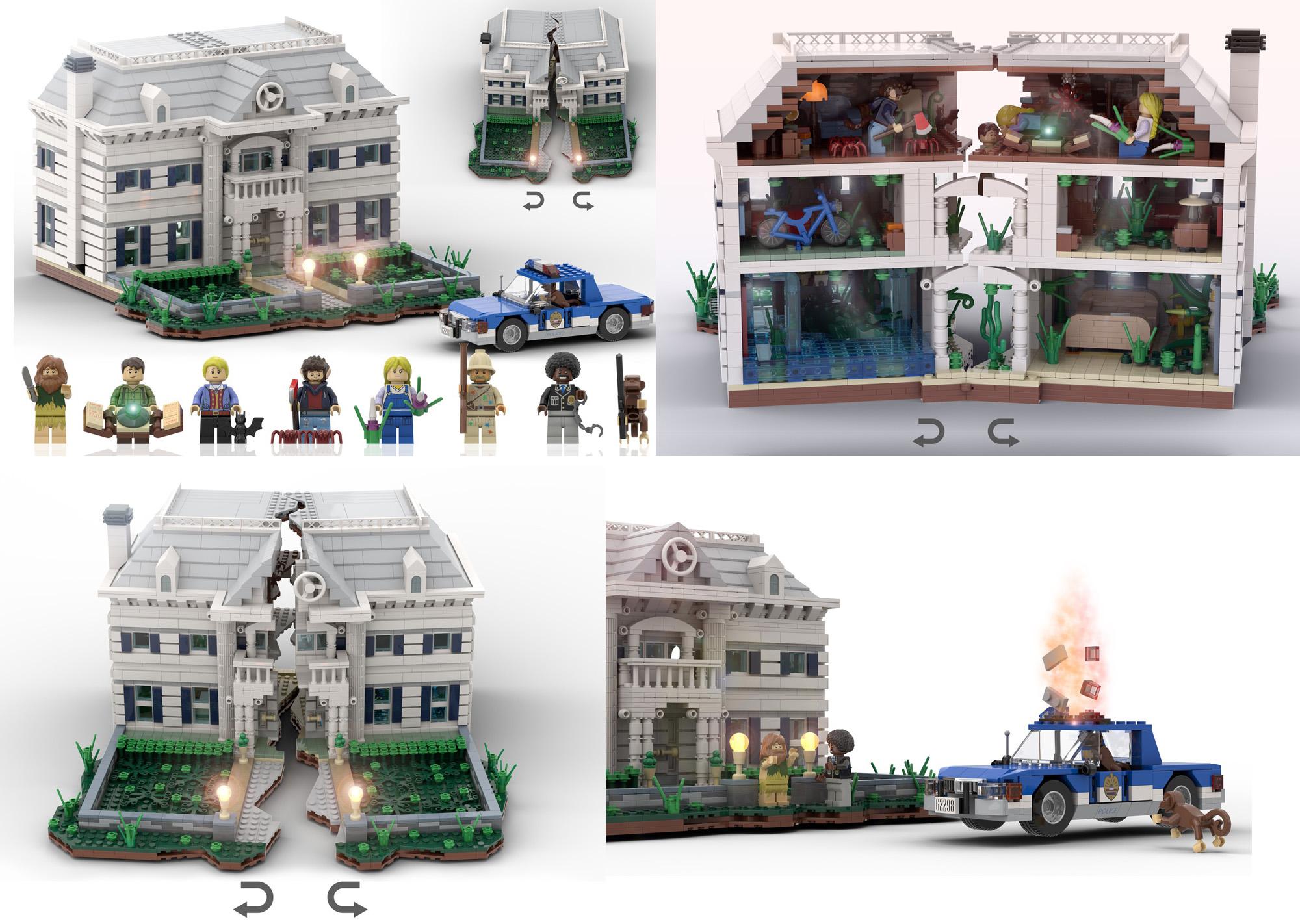 映画ジュマンジがレゴアイデア製品化レビュー進出!2020年第3回1万サポート獲得デザイン紹介