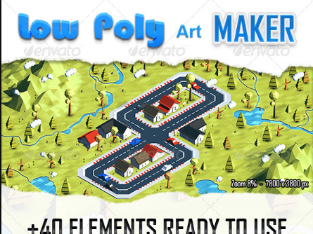 Download Low Poly Art Maker Free