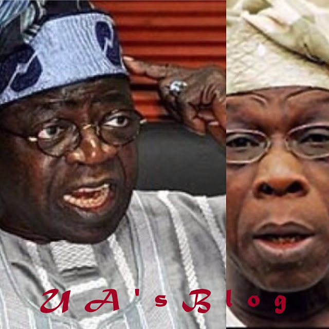 Obasanjo can't tell us who to vote for – Tinubu
