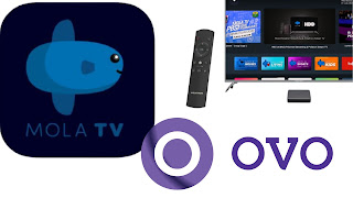 cara bayar mola tv lewat OVO