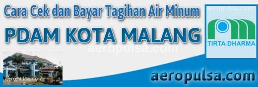 Cara cek dan bayar tagihan rekening PDAM Kota Malang