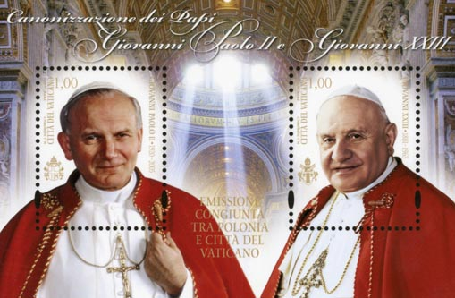 Persiapan Kanonisasi Beato Yohanes XXIII dan Beato Yohanes Paulus II pada 27 April 2014