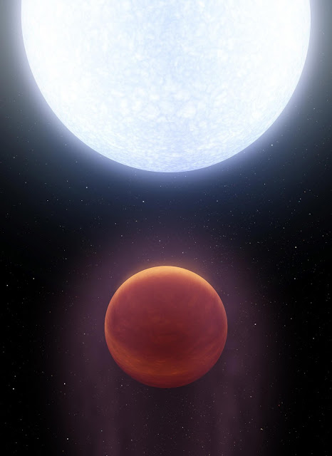 Astronomers discover exoplanet hotter than most stars