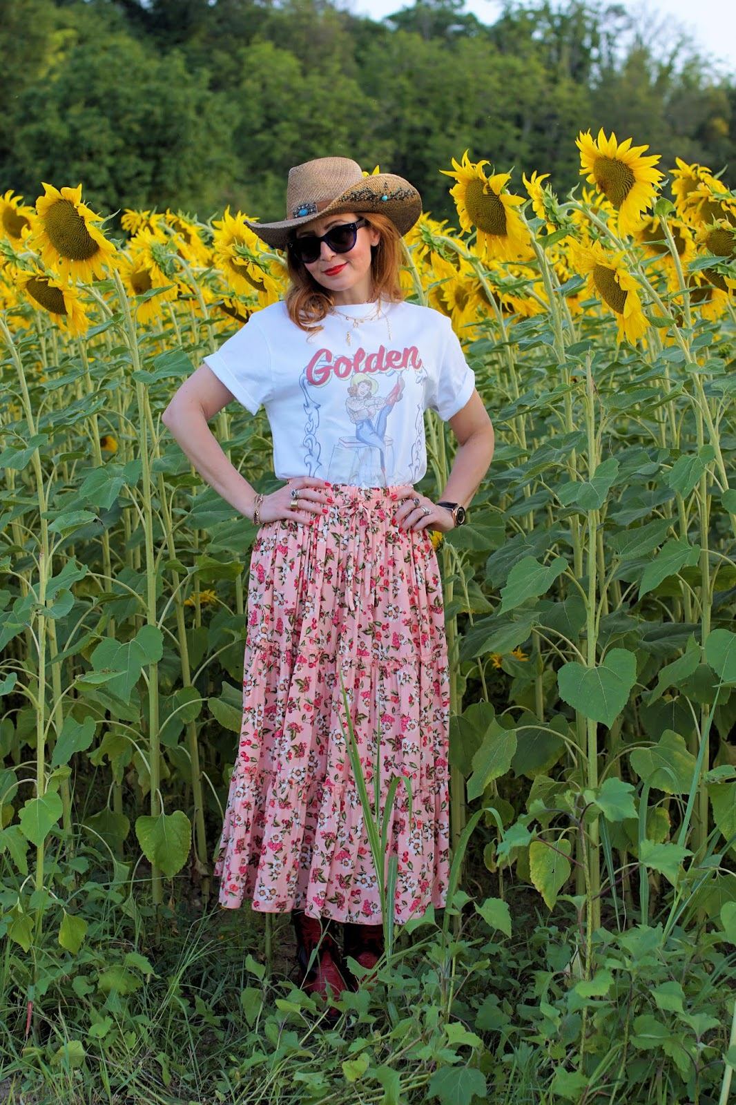 Golden Goose Pin Up t-shirt on Fashion and Cookies fashion blog, fashion blogger