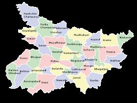 Neighbour States of Bihar