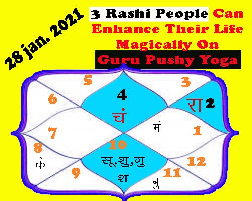 3 Rashi People Can Get Great Benefits on Guru Pushya Yoga