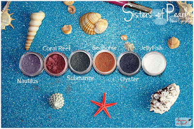 recensione swatches Sisters Of Pearl  Neve Cosmetics
